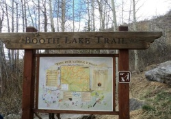 dog hiking trail in vail