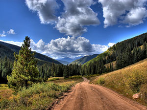 shrine pass mountain bike ride - vail